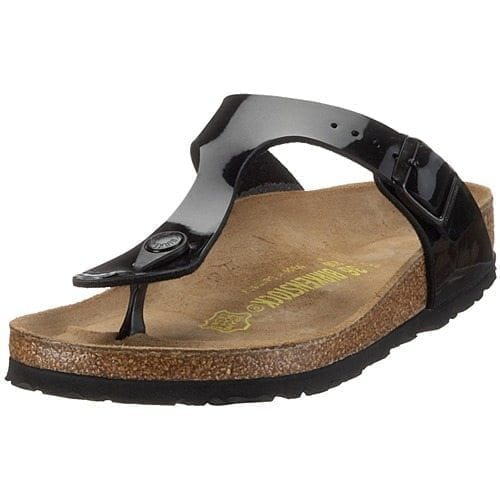 b56244c05df Birkenstock. £59.00. Black Gizeh Sandals